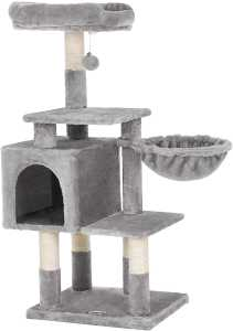 cat tree, 110 cm cat tree, climbing tower for cats