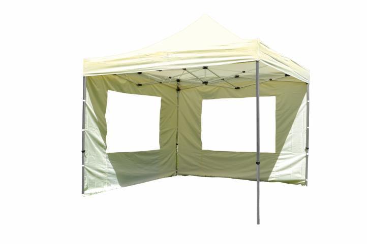 Namiot ogrodowy 3x3 m automatyczny, beżowy pawilon handlowy