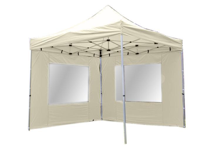 Namiot ogrodowy 3x3 m automatyczny Profi, beżowy pawilon